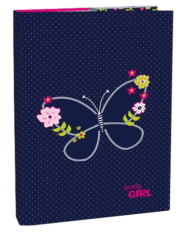 Box na sešity A4 Blue Butterfly