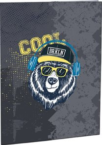 Desky na abecedu Cool bear