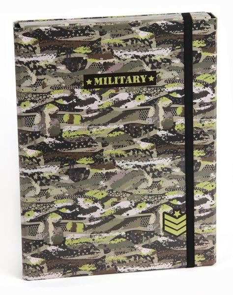 Box na sešity A5 s klopou Stil - Military