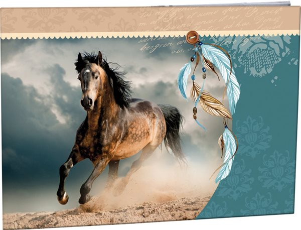 Desky na číslice Stil - Wild horse