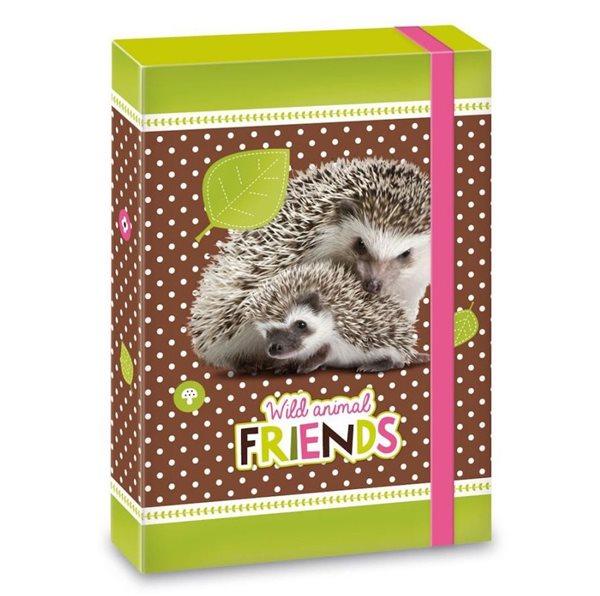 Desky na sešity Ars Una A5 Hedgehog