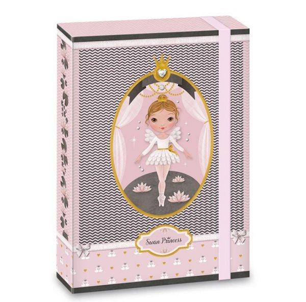Desky na sešity Ars Una A5 Swan Ballerina