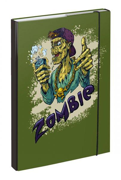 BAAGL Desky na školní sešity A4 - Zombie