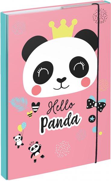 BAAGL Desky na školní sešity A4 - Panda