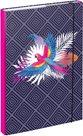 BAAGL Desky na školní sešity A4 - Papoušek