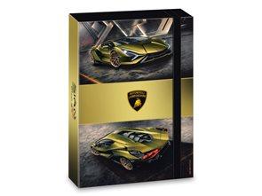 Desky na sešity A4 Ars Una Lamborghini Gold