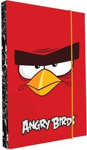 Karton PP Desky na sešity s boxem A5 - Angry birds - motiv 2015