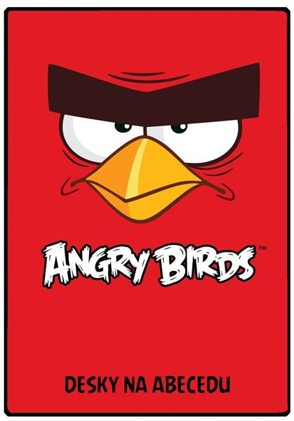 Karton PP Desky na abecedu - Angry birds