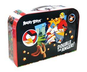 """Karton PP Dětský kufřík 35"""" - Angry birds"""