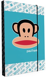 Karton PP Desky na sešity s boxem A5 - Paul Frank Kids