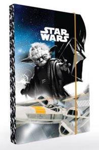 Karton PP Desky na sešity s boxem A5 - Star Wars