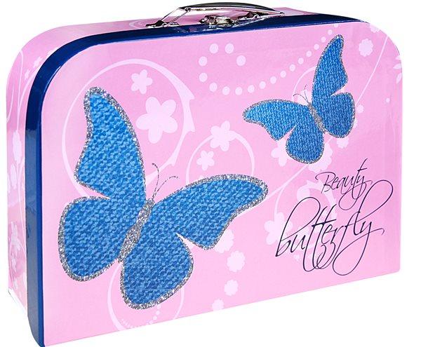 """Karton PP Dětský kufřík 35"""" - Motýl"""