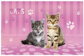 Karton PP Podložka na stůl - Kočka