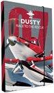 Karton PP Desky na sešity s boxem A5 - Planes / Letadla