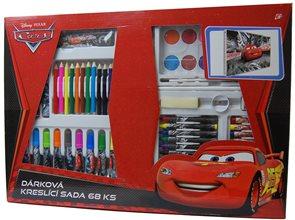 Karton PP Kreslící dárkový set 68 ks - Cars