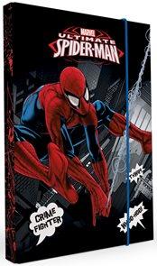 Karton PP Desky na sešity s boxem A5 - Spiderman 2015