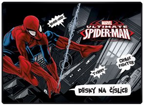 Karton PP Desky na číslice - Spiderman 2015