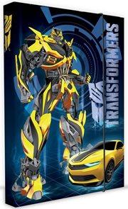Karton PP Desky na sešity s boxem A4 - Transformers 2015