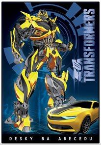 Karton PP Desky na abecedu - Transformers 2015