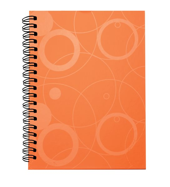 PP Kroužkový blok A4 Neo Colori - oranžová