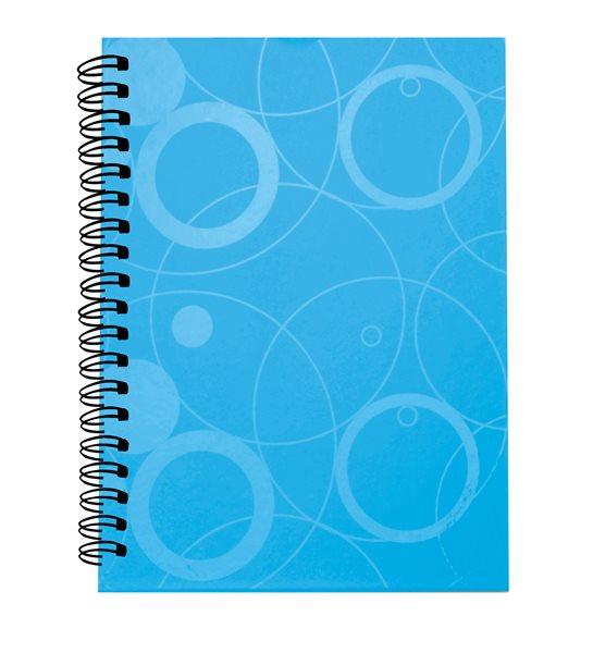 PP Kroužkový blok A5 Neo Colori - modrá
