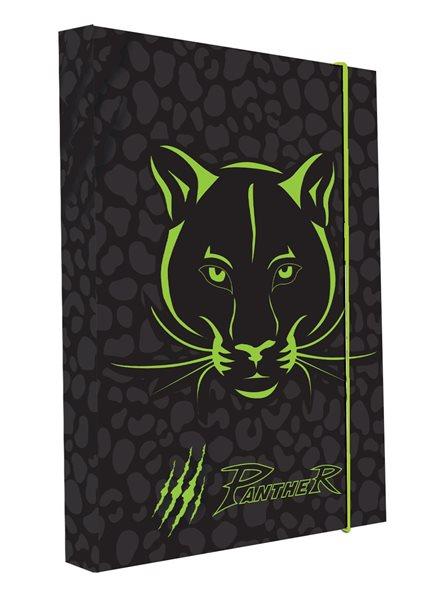 Karton PP Desky na sešity s boxem A4 - Panther