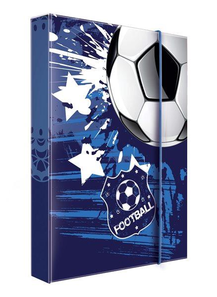 Karton PP Desky na sešity s boxem A4 - Football