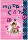 Karton PP Desky na sešity A5 - Happy Cats
