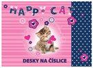 Karton PP Desky na číslice - Happy Cats