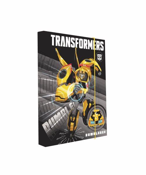 Karton PP Desky na sešity s boxem A5 - Transformers 2016