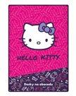 Karton PP Desky na abecedu - Hello Kitty