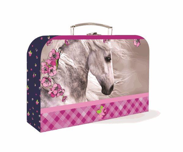 """Karton PP Dětský kufřík 35"""" - Kůň"""