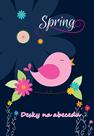 Karton PP Desky na abecedu - Spring