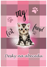 Karton PP Desky na abecedu - Kočka