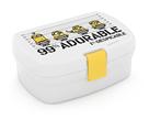 Karton PP Box na svačinu - Mimoni black&white