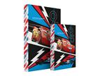 Karton PP Desky na sešity s boxem A4 - Cars 2017