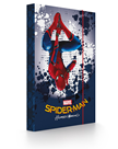 Karton PP Desky na sešity s boxem A4 - Spiderman 2017