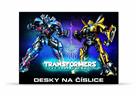 Karton PP Desky na číslice - Transformers 2017