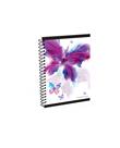 Karton PP Kroužkový blok A6 - Romantic Nature Motýl