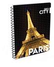 Karton PP Kroužkový blok A4 - Paříž