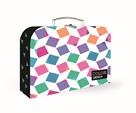 Dětský kufřík lamino 34 cm - Cubes