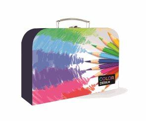 Dětský kufřík lamino 34 cm - Pastelky