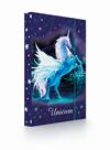 Desky na sešity s boxem A5 - Unicorn/Jednorožec