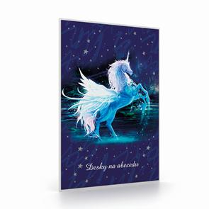 Desky na abecedu - Unicorn/Jednorožec
