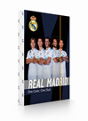 Desky na sešity s boxem A5 - Real Madrid