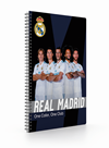 Kroužkový blok A4 - Real Madrid