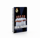 Kroužkový blok A6 - Real Madrid