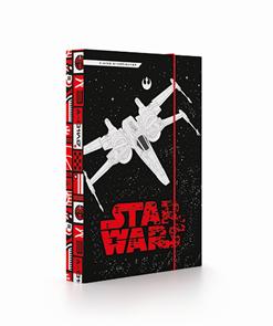 Desky na sešity s boxem A5 - Star Wars 2018