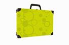 Kufřík lamino hranatý okovaný - NEO COLORI zelená