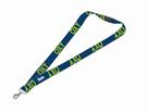 Klíčenka s karabinkou OXY Sport BLUE LINE - Green